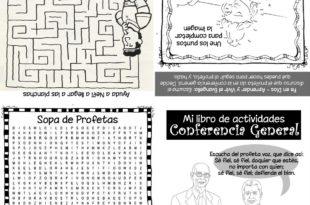 libro de actividades Conferencia General
