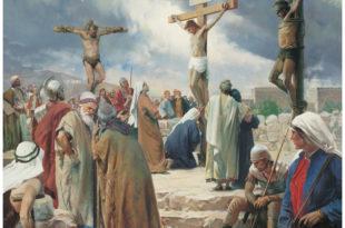 El perdón de Jesus en la cruz