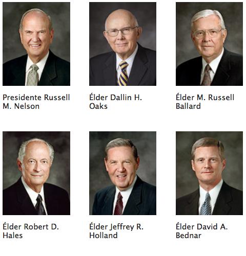 La Primera Presidencia y los Doce Apóstoles son profetas