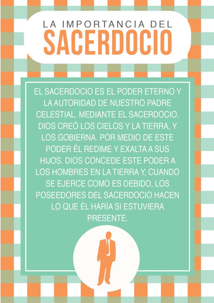 EL SACERDOCIO Y LAS LLAVES DEL SACERDOCIO