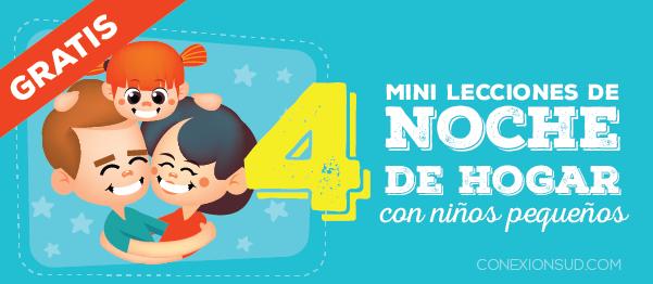 Mini Lecciones de Noche de Hogar con niños pequeños - Conexión SUD-10