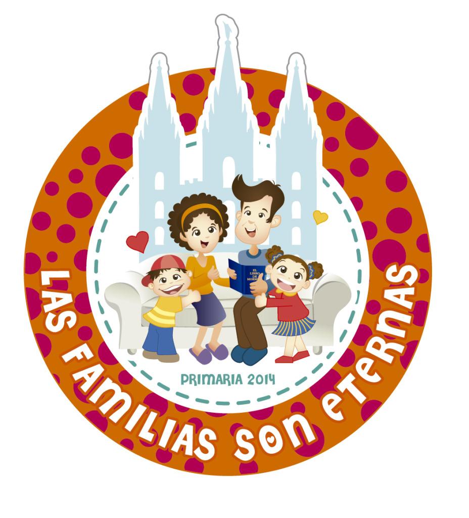 DISTINTIVOS PRESENTACION PRIMARIA 2014 Las Familias Son Eternas - maggiCAL Conexion SUD