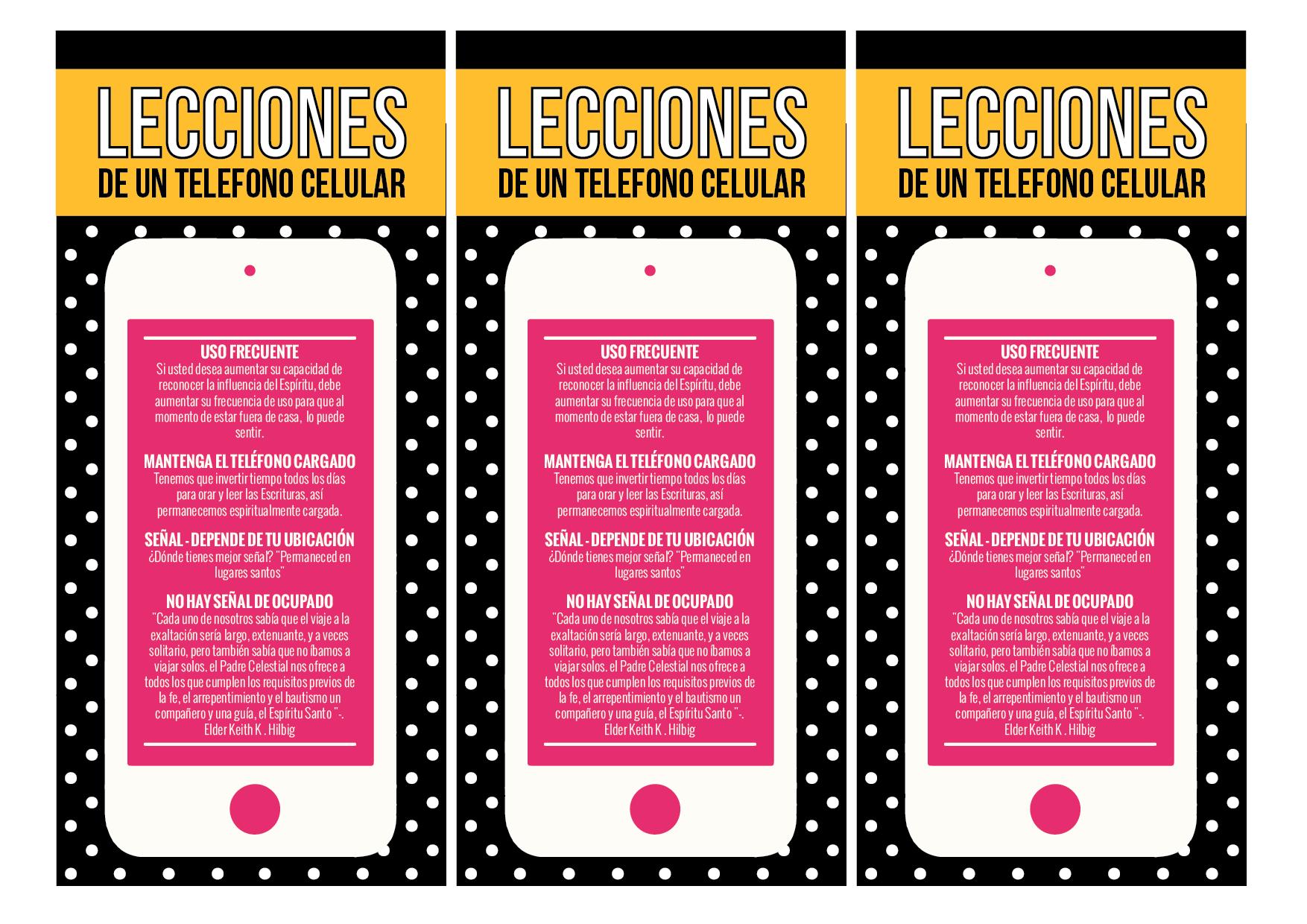 Lecciones de un Telefono Celular - Conexion SUD