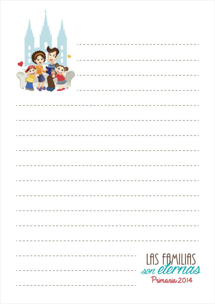 Notitas PRESENTACION PRIMARIA 2014 Las Familias Son Eternas - maggiCAL Conexion SUD