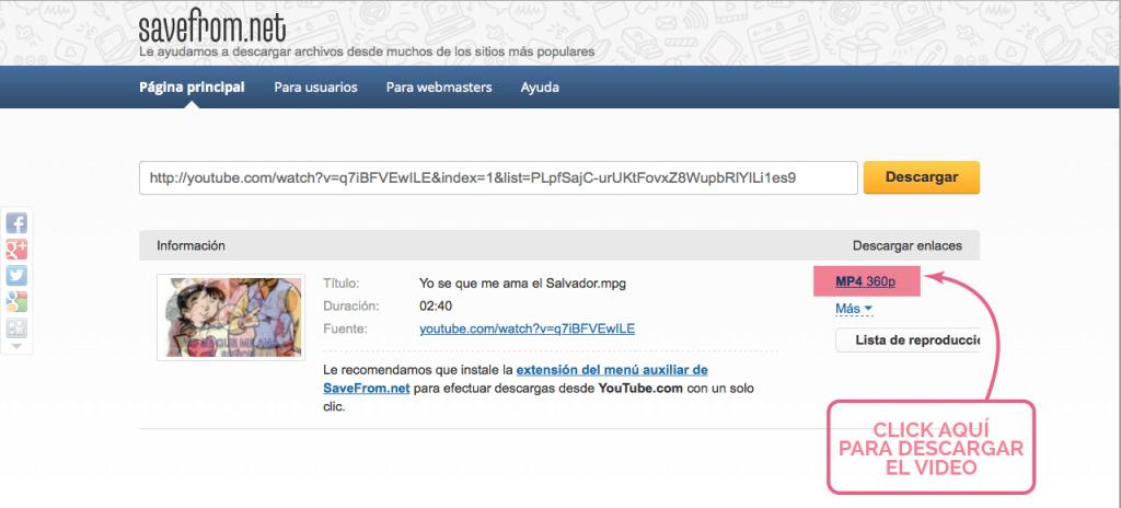 Cómo Descargar Videos de YouTube