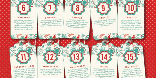Calendario de Adviento - Conexion SUD
