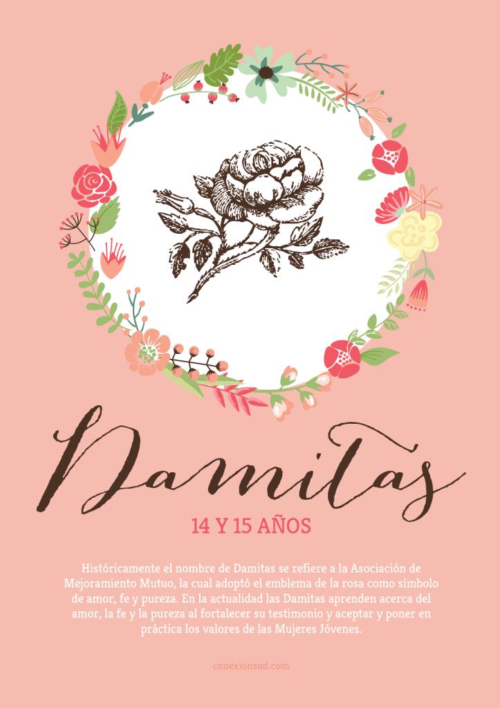 Clases y Símbolos de las Mujeres Jóvenes - Damitas - Conexión SUD