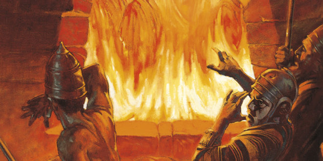 Daniel demuestra valor en el horno ardiente