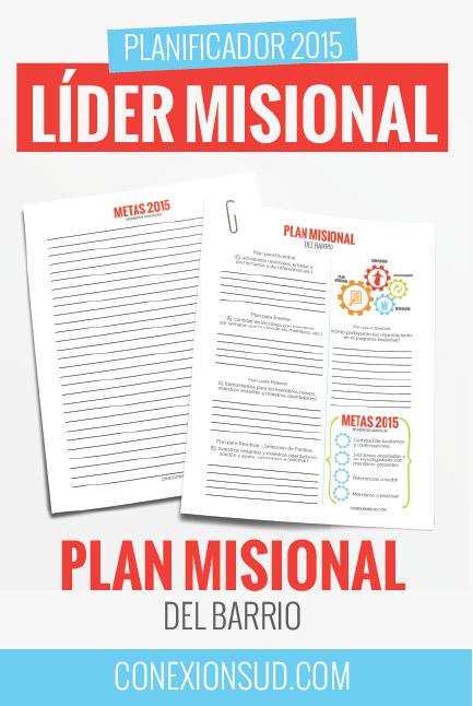 Planificador Lider Misional - Plan Misional de Barrio - Conexión SUD