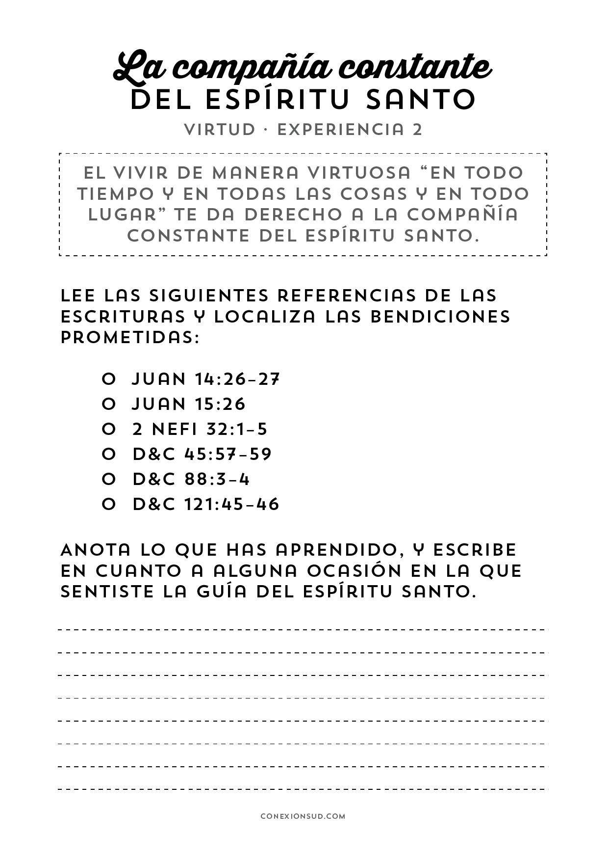Virtud 2 - Espiritu Santo - ConexionSUD