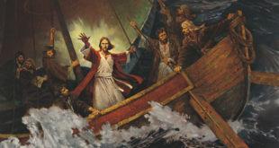 Jesus calma la tormenta