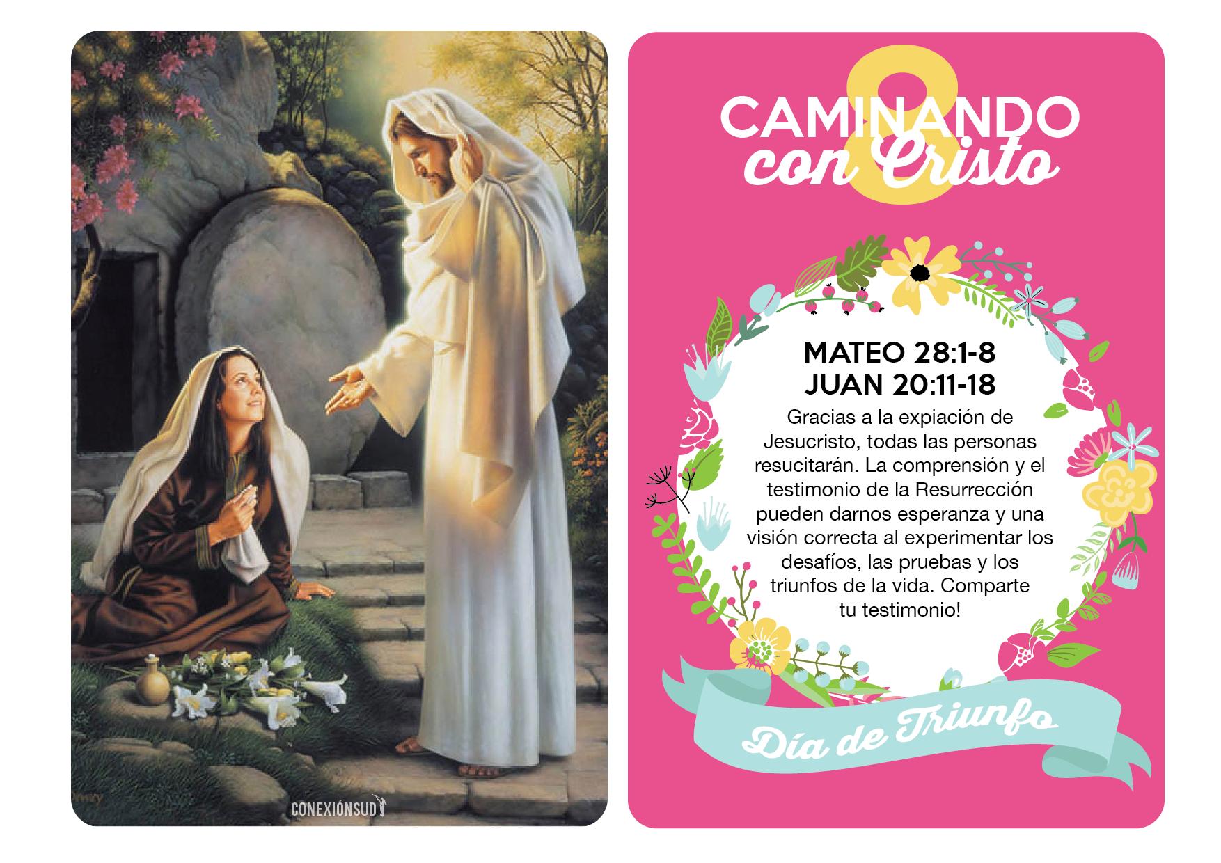 Caminando con Cristo - Lección de Pascua de Resurrección - Conexión SUD