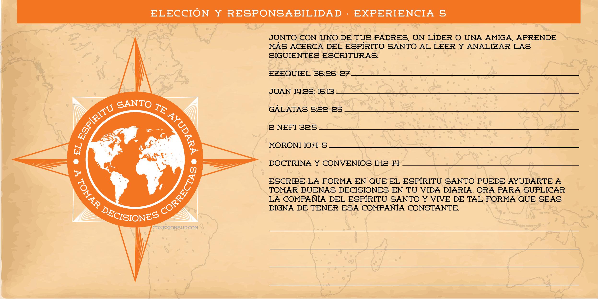 Cómo puedo recibir revelación personal - Ven Sígueme Mayo - Conexión SUD - Elección y responsabilidad 5