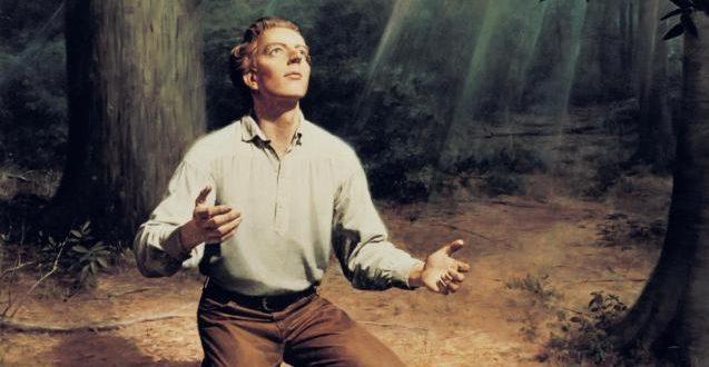 Nuestro Padre Celestial y Jesucristo se aparecieron a José Smith