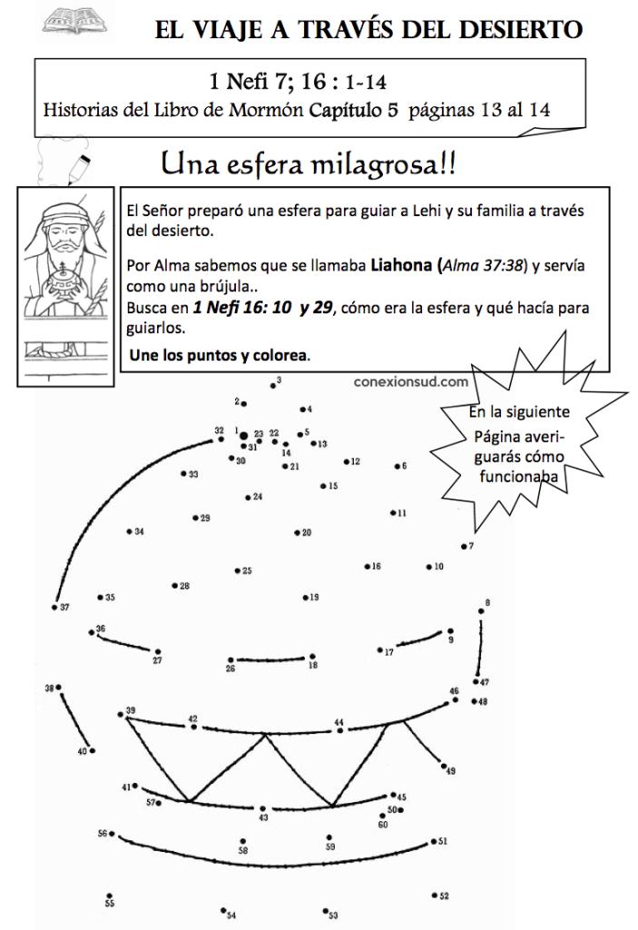 Liahona - Nefi rompe el arco - 1 nefi 16 - Guía del Espiritu Santo - Conexión SUD - El Espíritu Santo habla con una voz suave y apacible