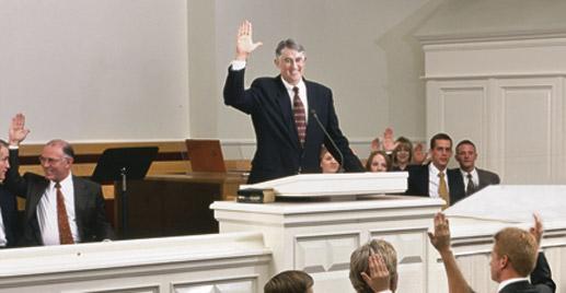 Sostenimiento de líderes - sostener a los líderes del sacerdocio