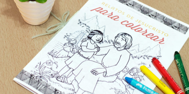 Relatos de Jesucristo para colorear | Conexión SUD