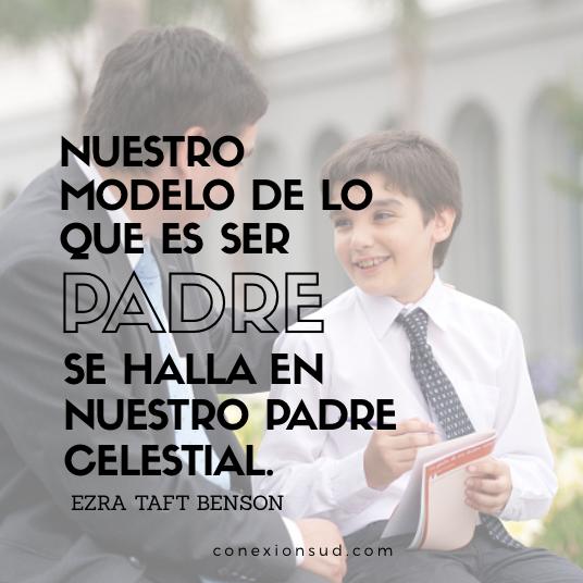 el modelo de lo que es ser padre
