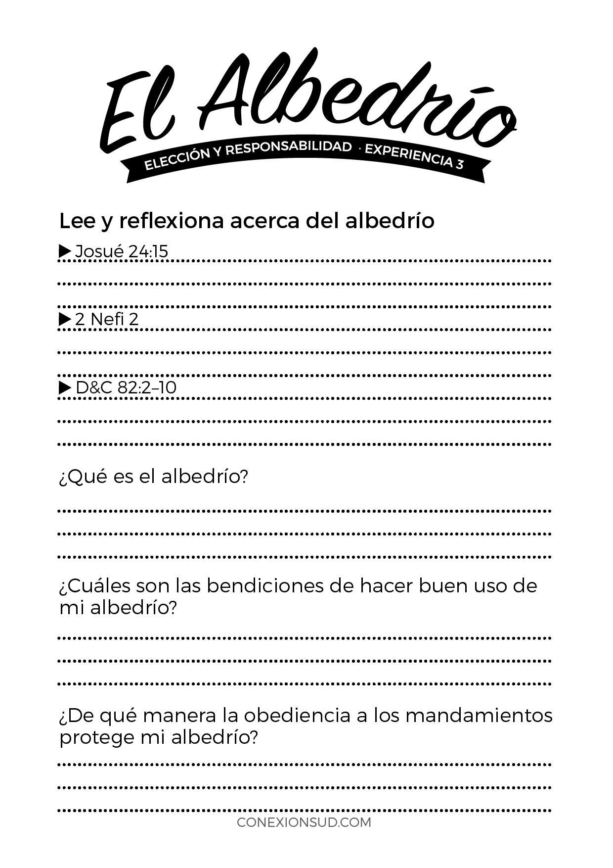 Eleccion y Responsabilidad 3 - ConexionSUD.com