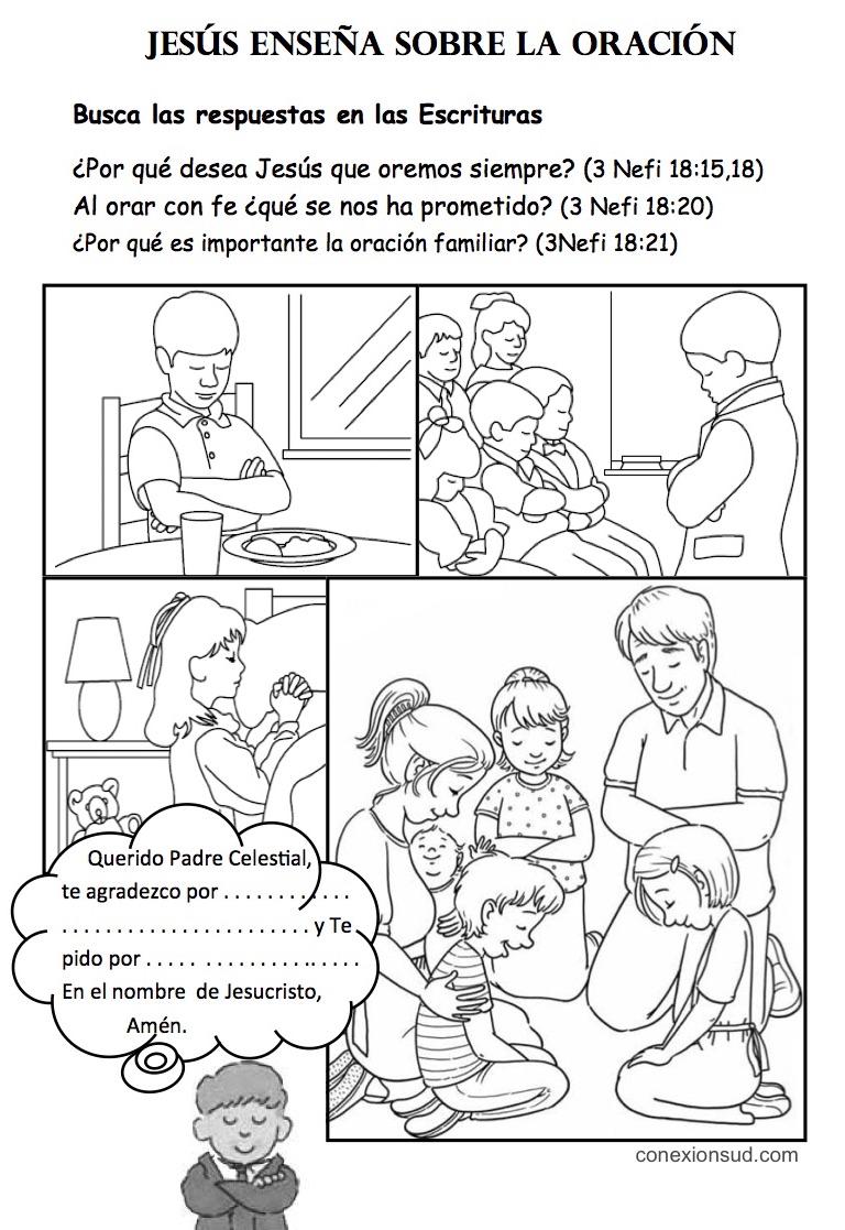 el Salvador enseña en cuanto a la oración - conexionsud