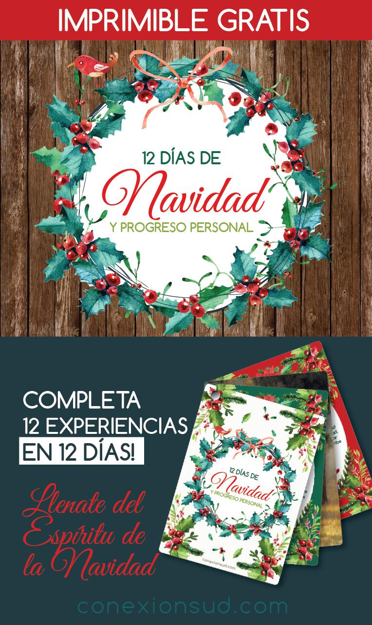 12 dias de Navidad y del Progreso Personal - ConexionSUD