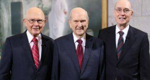 primera presidencia profeta presidente nelson revelacion apostoles organizacion