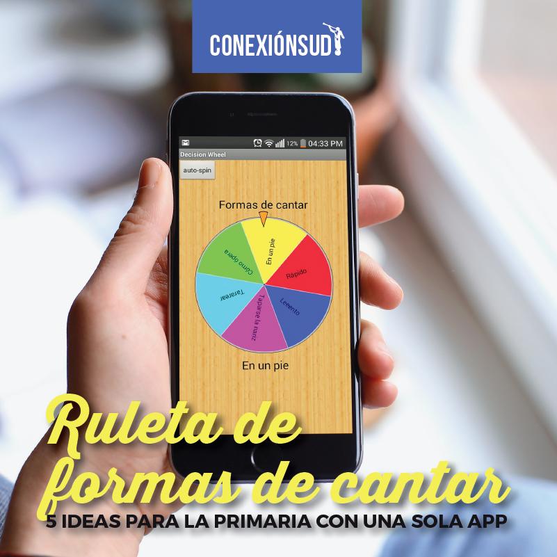 5 ideas para la Primaria con unas sola app 3-conexionsud