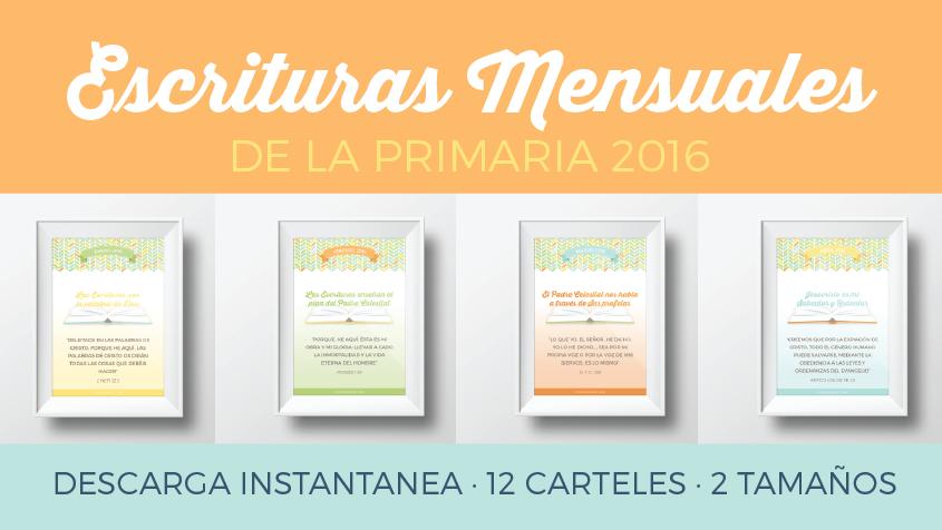 carteles escrituras mensuales primaria 2016_Conexion SUD