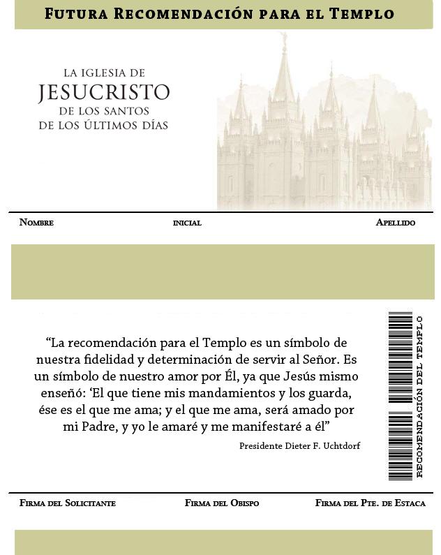 futura recomendacion para el templo - ConexionSUD