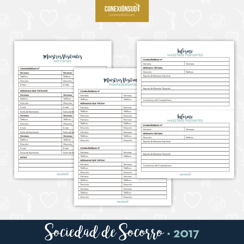 Planificador de la Sociedad de Socorro 2017 - ConexionSUD