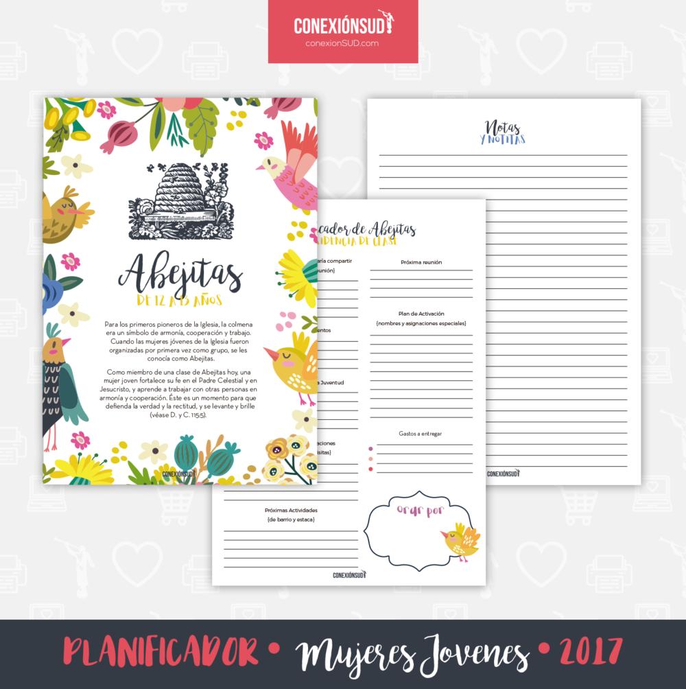 Planificador de las Mujeres Jovenes 2017 - ConexionSUD