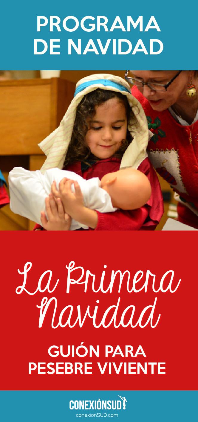 programa la primera navidad_Conexion SUD Pesebre viviente