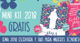 Mini Kit - Mujeres Jovenes 2018 - Paz en Cristo_Conexion SUD