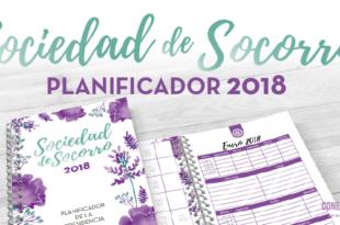 Planificador de la Sociedad de Socorro - 2018 - Conexion SUD