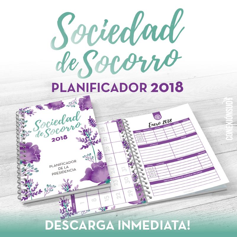 Planificador de la Sociedad de Socorro 2018 - Conexion SUD