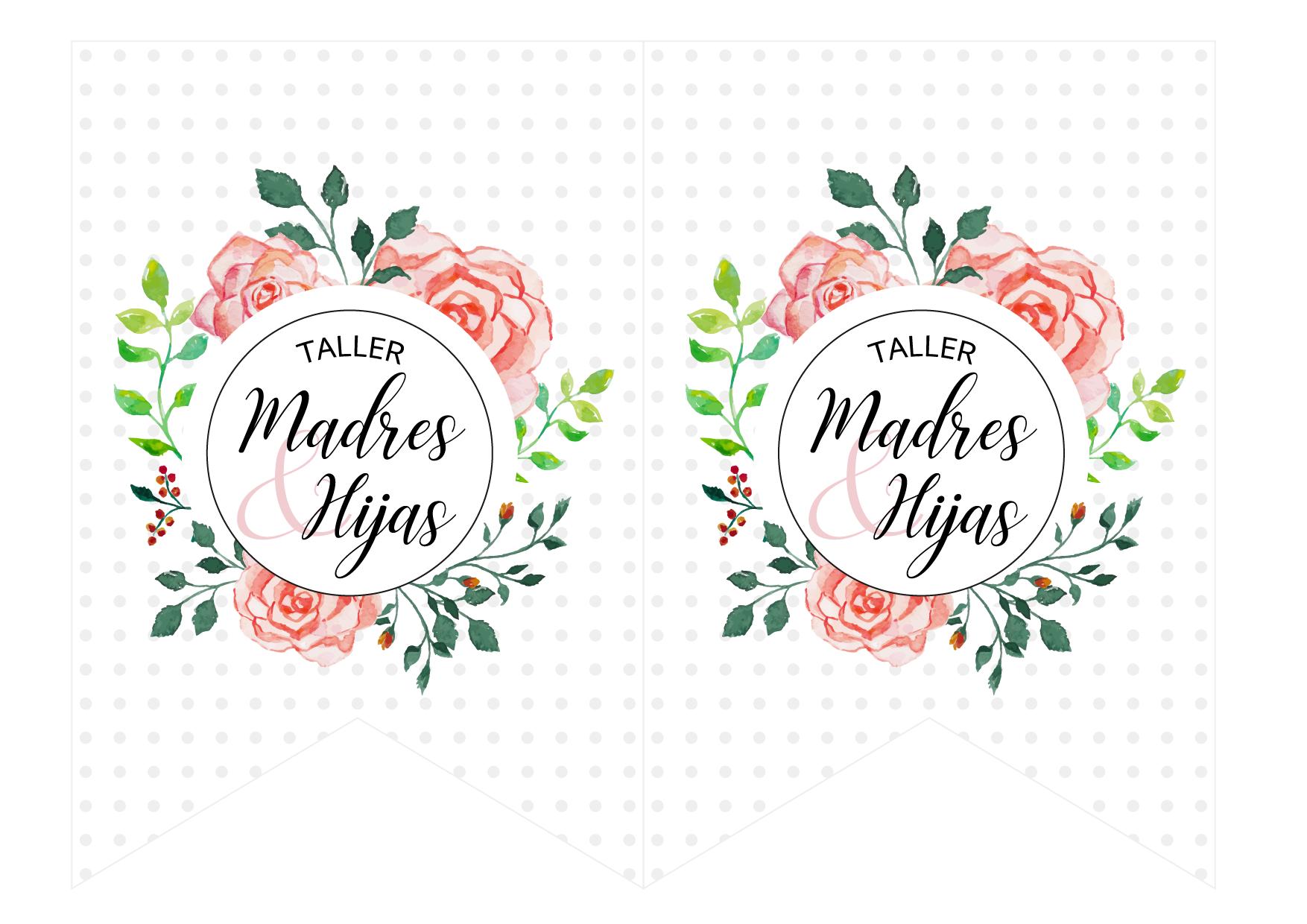 banderines Taller Madres e Hijas - conexionsud-01-02