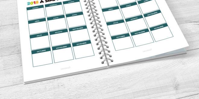 """Cómo organizar el año con un calendario """"a simple vista"""""""