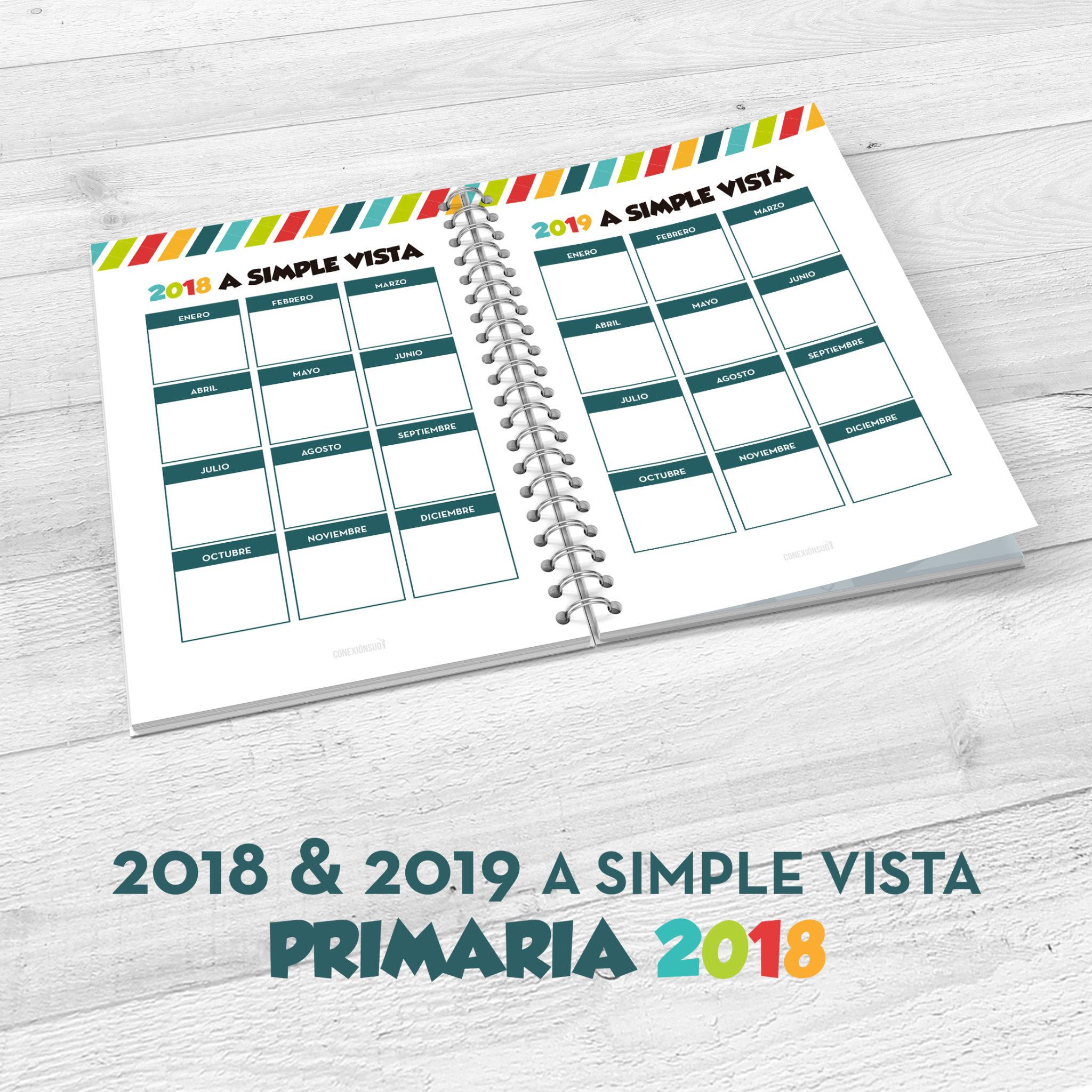 Planificador de la Primaria 2018 - Soy un Hijo de Dios - ConexionSUD