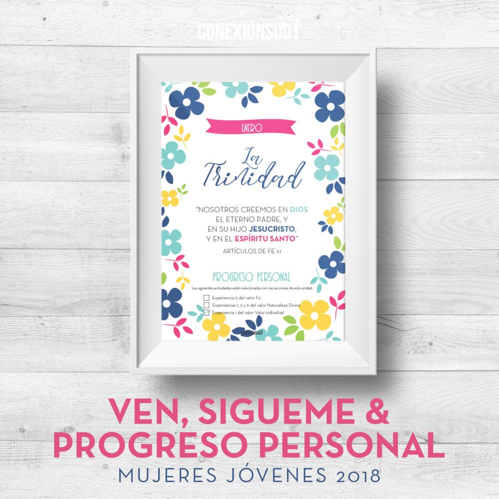 Ven Sigueme y el Progreso Personal - Mujeres Jovenes 2018 - ConexionSUD