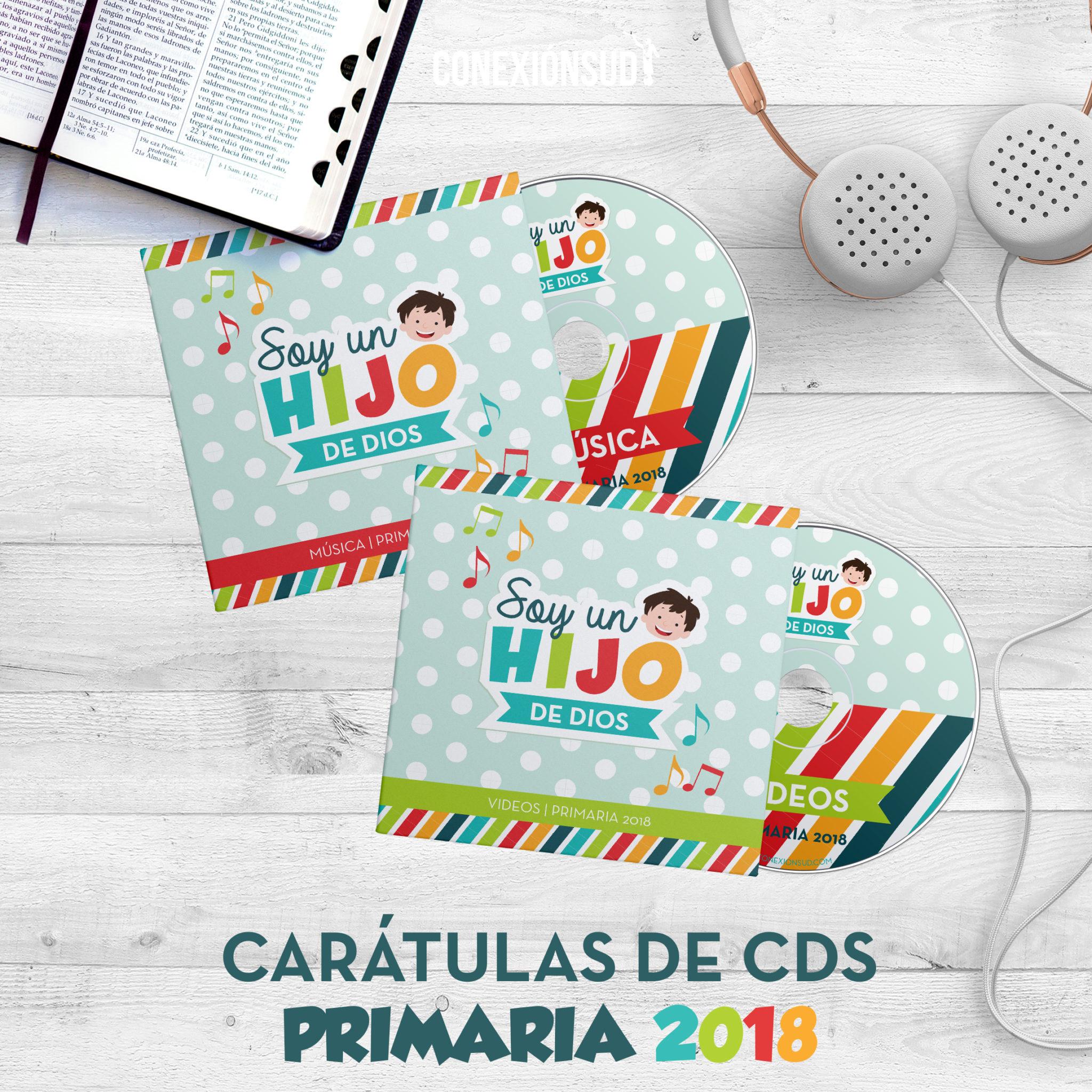 CD Musica Primaria 2018 - Soy un Hijo de Dios