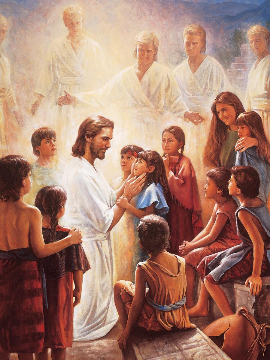 jesus niños nefitas soy un hijo de dios