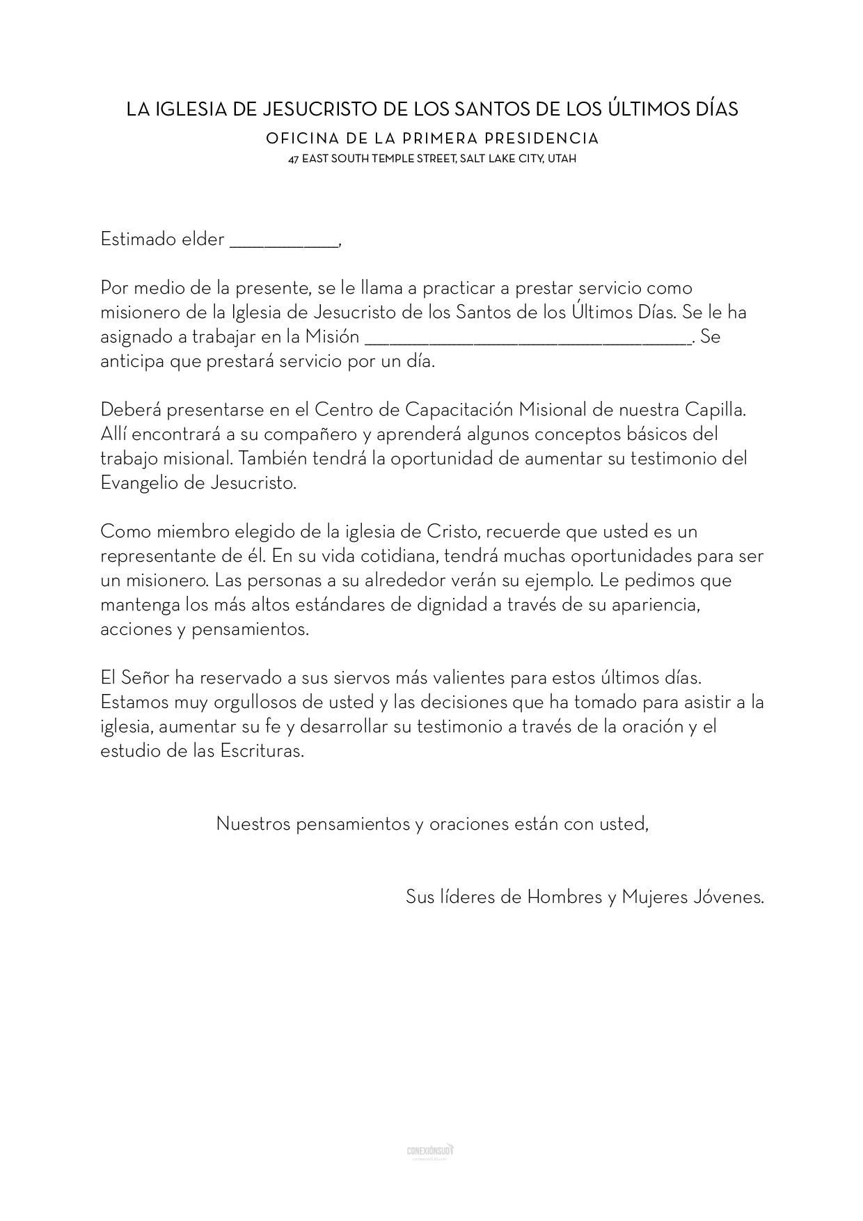 misionero por un dia - carta elder_ConexionSUD-03