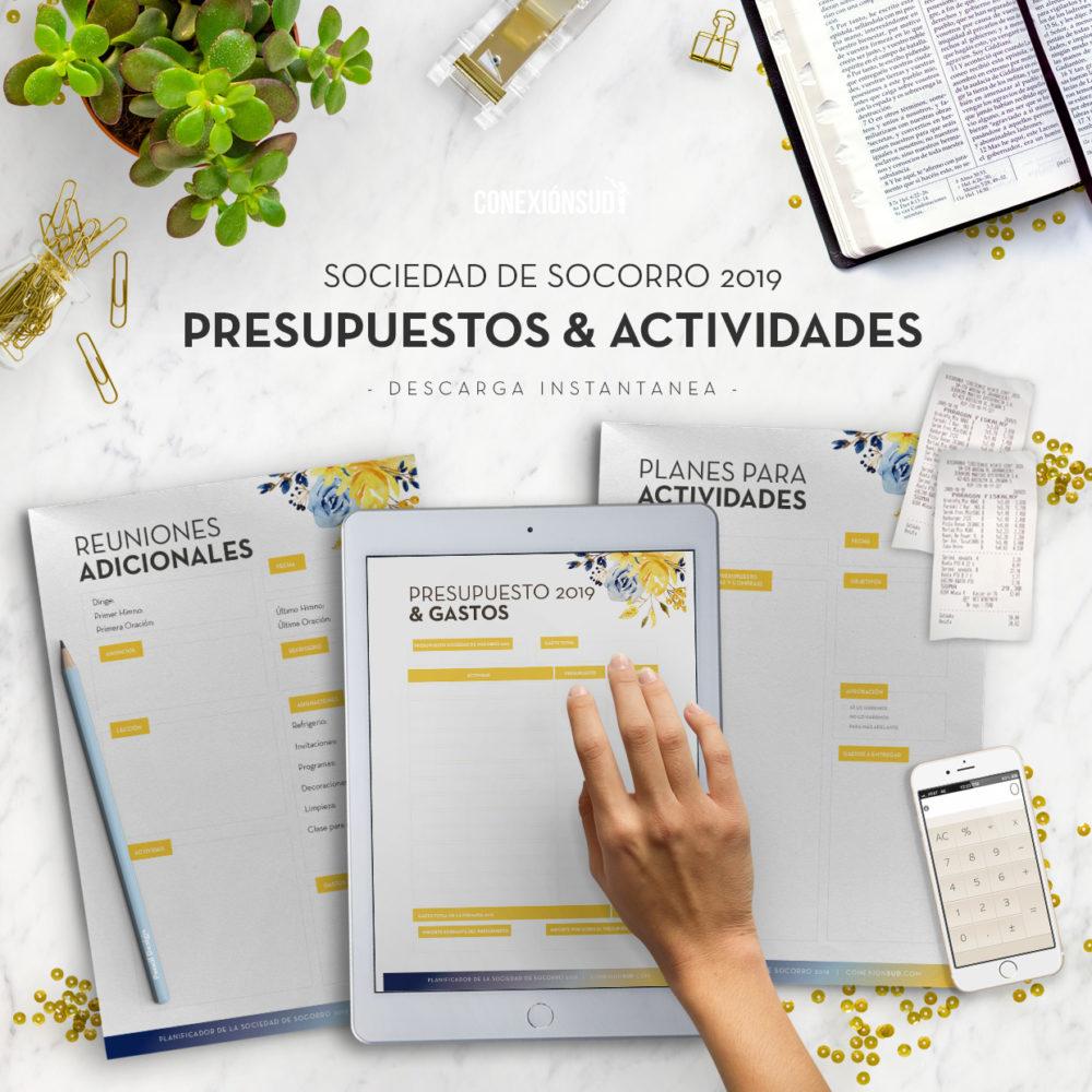 Planificador de la Sociedad de Socorro 2019 | Digital Editable! Descarga instantanea - ConexionSUD