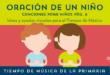 """""""Oración de un niño"""" CN 6"""