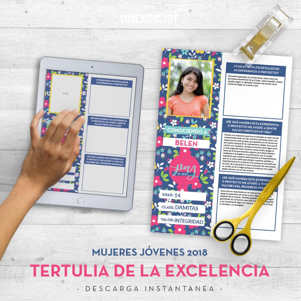 Mujeres Jovenes 2018 - Tertulia de la Excelencia - ConexionSUD