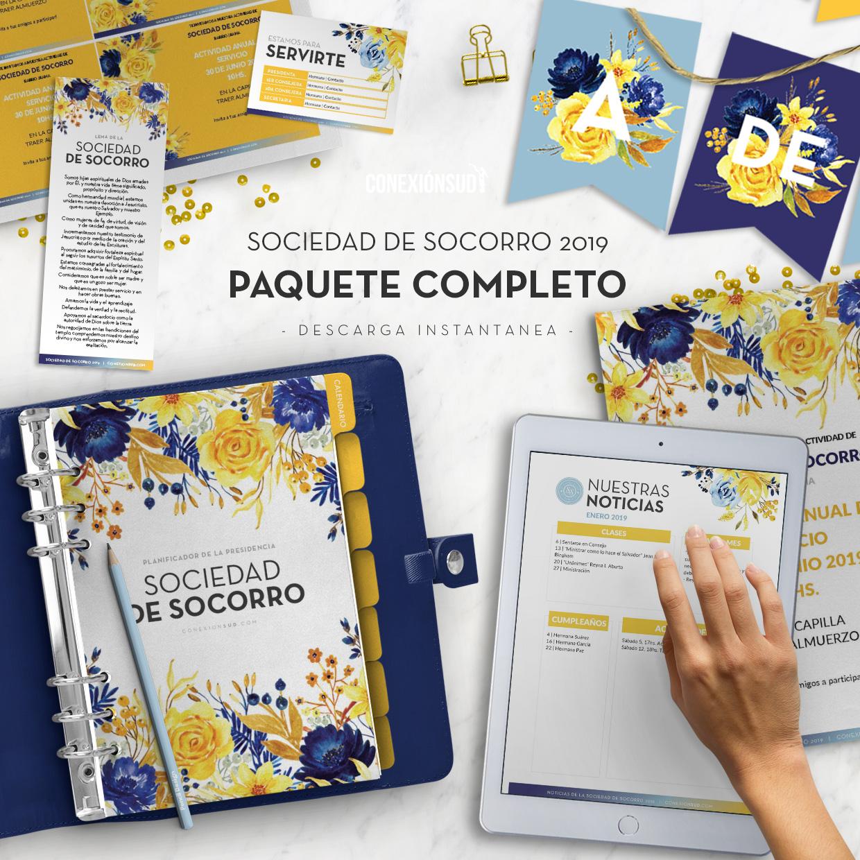 PAQUETE COMPLETO Sociedad de Socorro 2019 - ConexionSUD