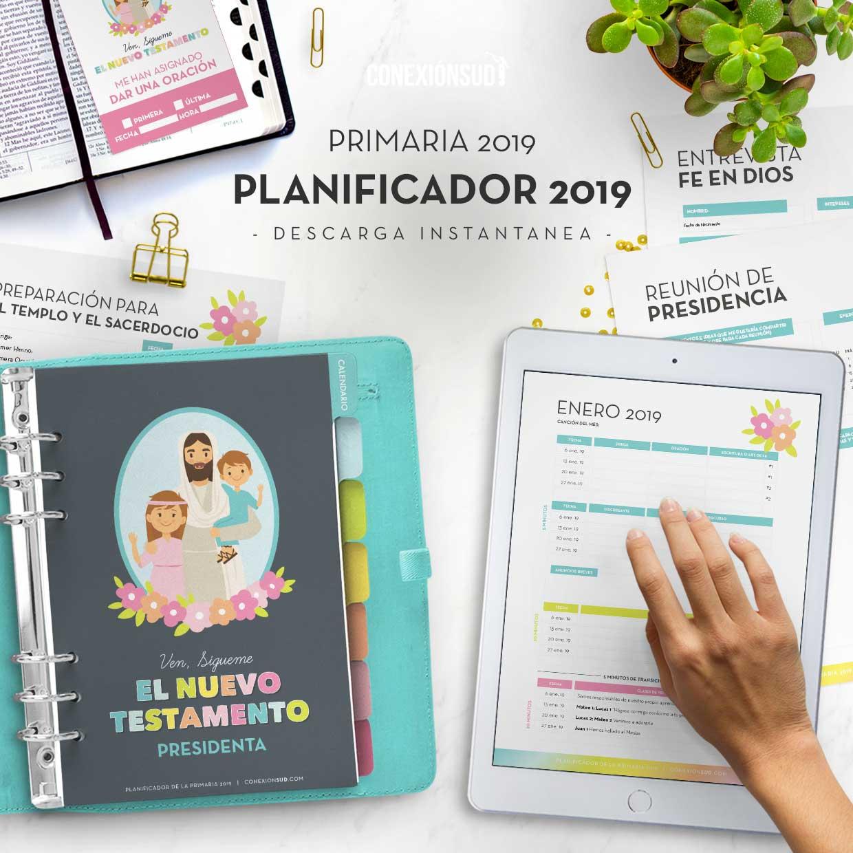 Planificador-de-la-Primaria-2019-El-Nuevo-testamento-Ven-Sigueme--ConexionSUD