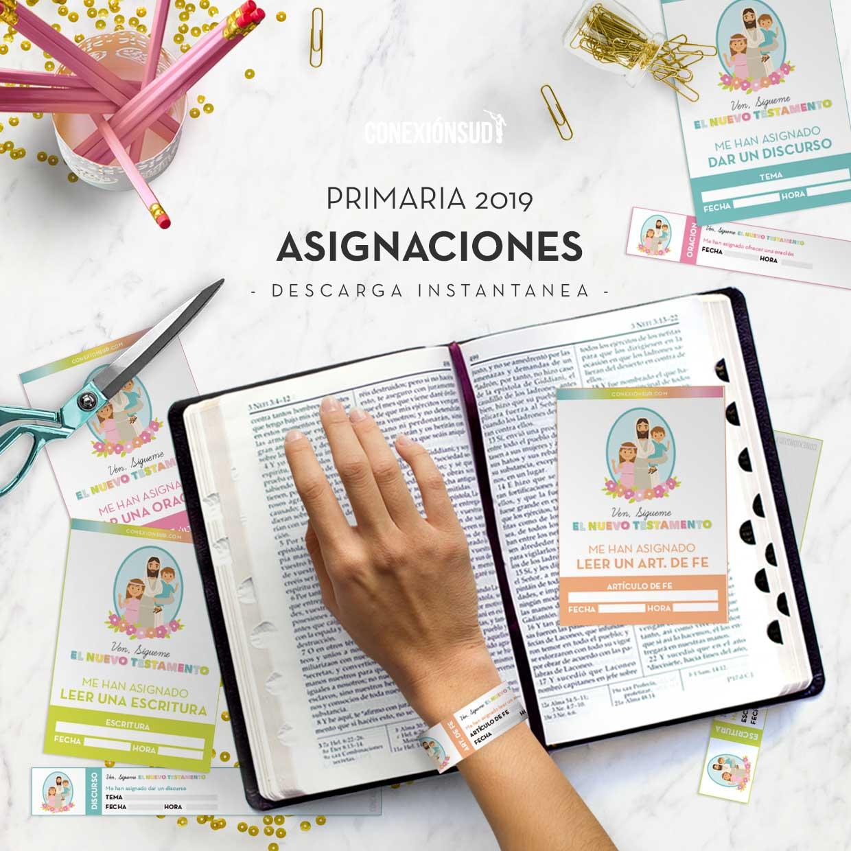 asignaciones-Planificador-de-la-Primaria-2019-El-Nuevo-testamento-Ven-Sigueme--ConexionSUD