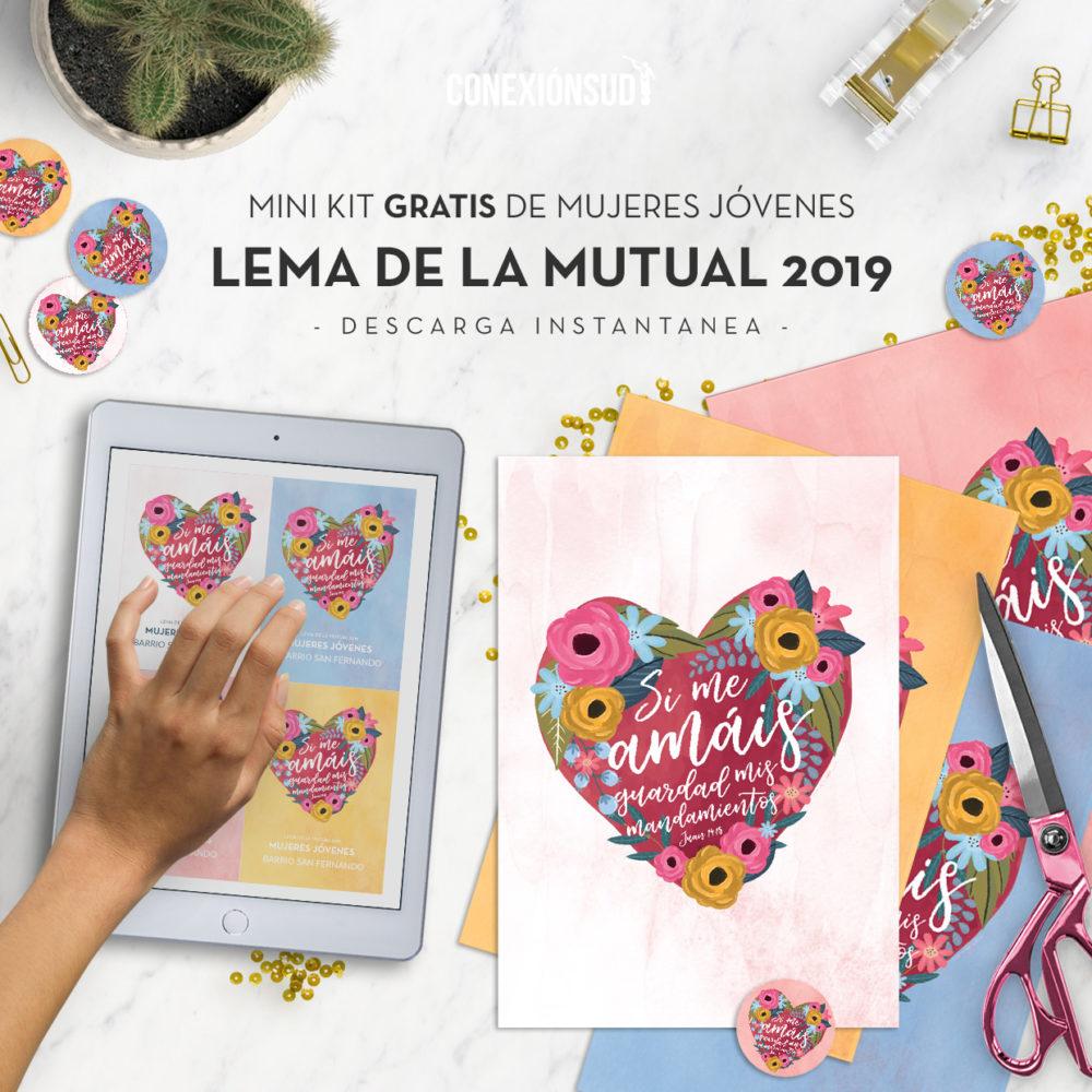 Mini Kit Gratis Lema Mutual 2019 Mujeres Jovenes 2019 - ConexionSUD