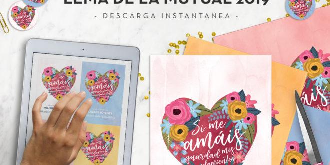 MiniKit Lema de la Mutual 2019 | Si me amáis | Mujeres Jóvenes